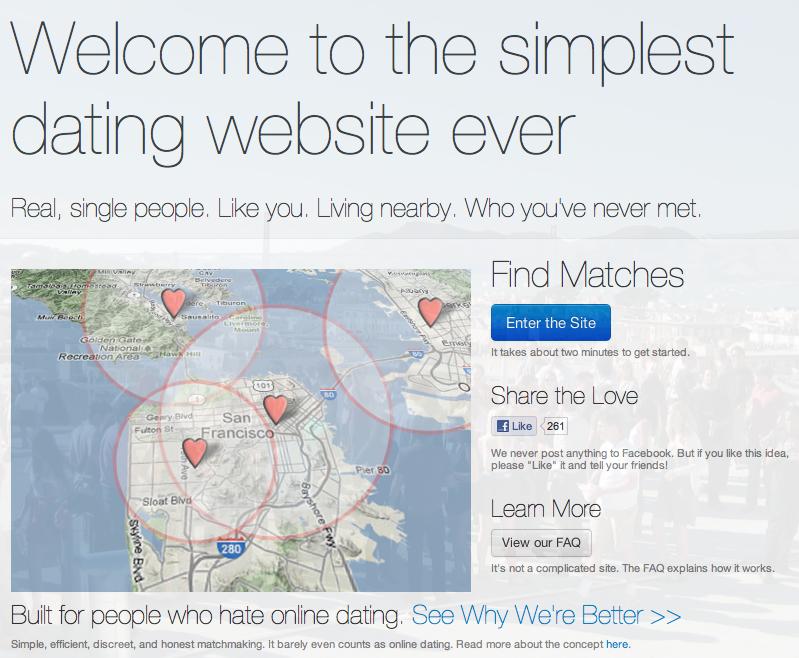 How we met dating website