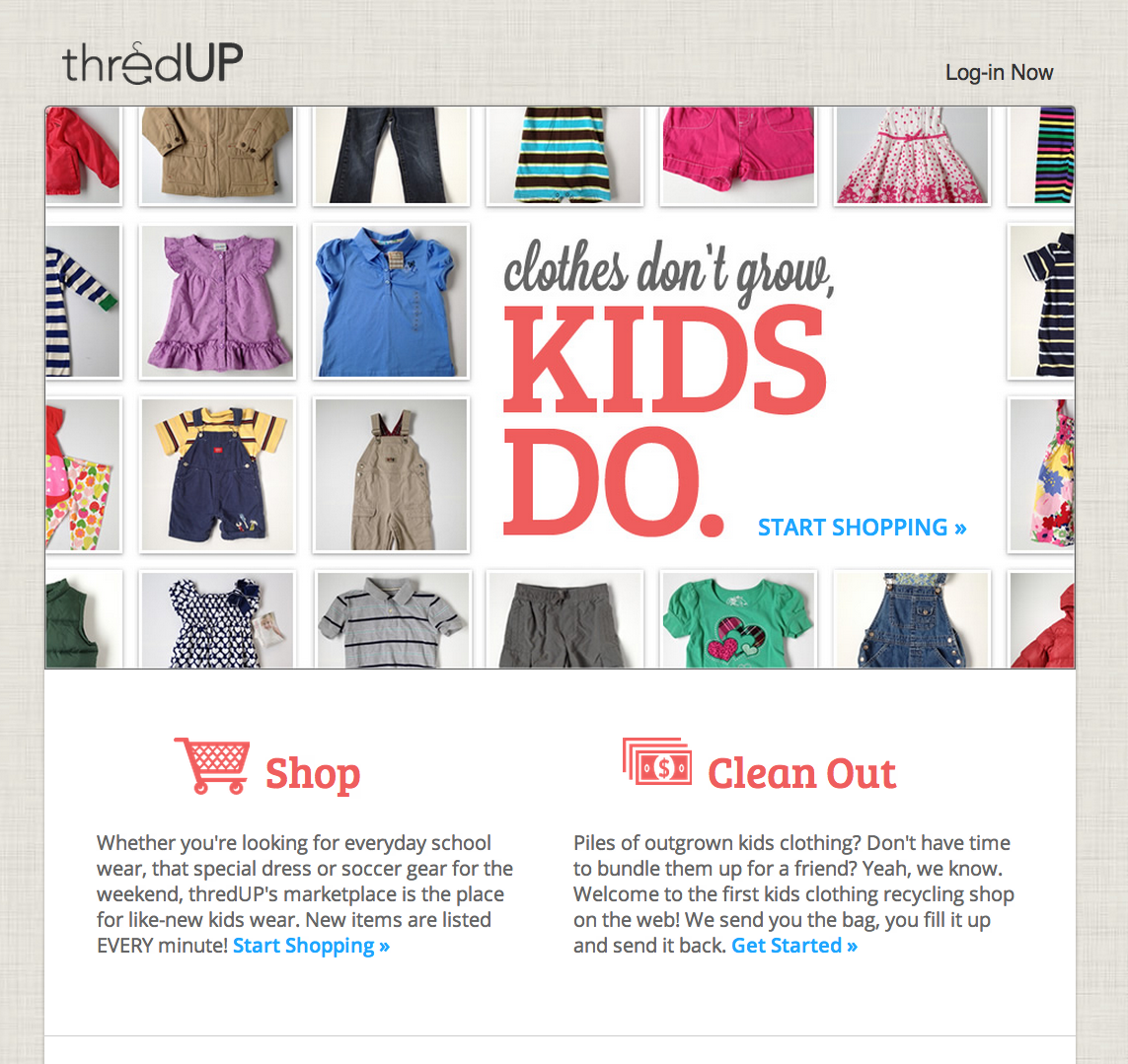b37cb1789dec ThredUP Shuts Down Kids Clothes Swapping Service In Favor Of Online  Consignment – TechCrunch