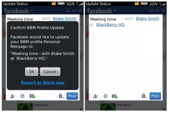 RIM's Updating Spree Adds BBM Support To Their Facebook, Twitter
