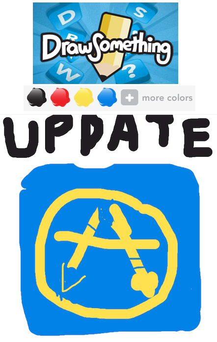 Update Your Draw Something App To Chat Save Drawings Share Em To Facebook And Twitter Techcrunch