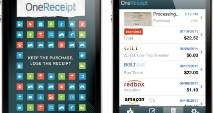 OneReceipt Launches iOS App For Scanning And Storing Those Pesky