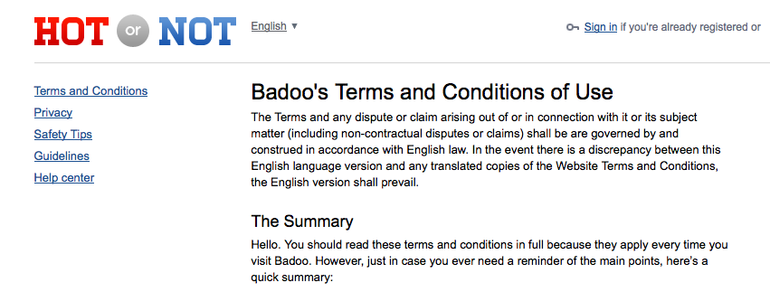 Badoo dating site australia