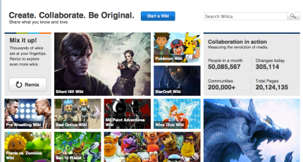 Wikia Rolls Out Big Redesign To Bring Accessibility Discovery To 20m Pages Of Ugc Techcrunch