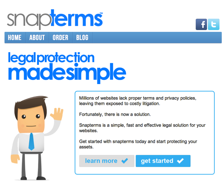 SnapTerms: Terms Of Service As A Service   TechCrunch