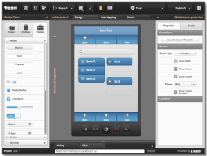 Tiggzi's Drag-And-Drop Mobile App Builder Goes Beyond Templates