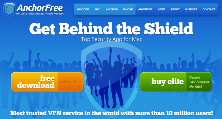 With Its Hotspot Shield Hitting 60M Downloads, AnchorFree