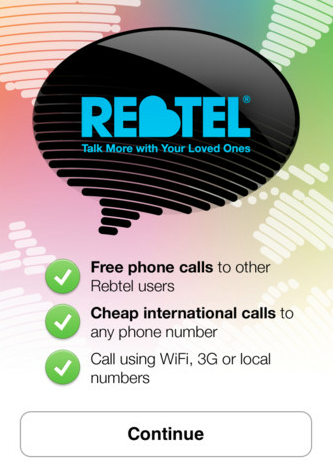 how to make rebtel call