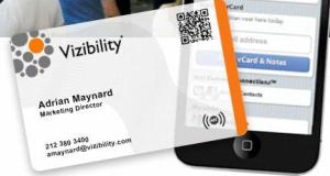 Vizibility launches its nfc enabled business cards techcrunch vizibility launches its nfc enabled business cards colourmoves