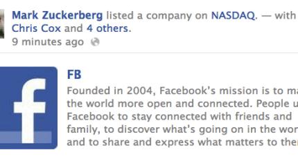 How Facebook Hacked The NASDAQ Button | TechCrunch