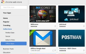 Google's Chrome Web Store Adds Section For Offline Apps And More In