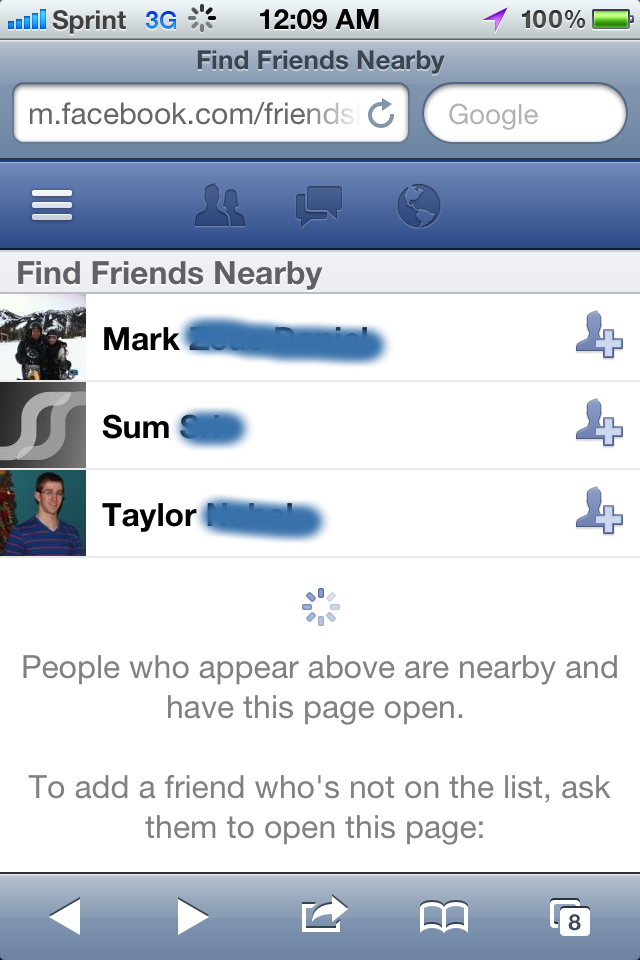 Find Friends Nearby': Facebook's New Mobile Feature For Finding