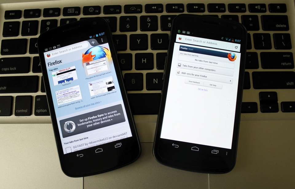 Faster, Flash-Friendly Firefox 14 For Android Graduates From Beta