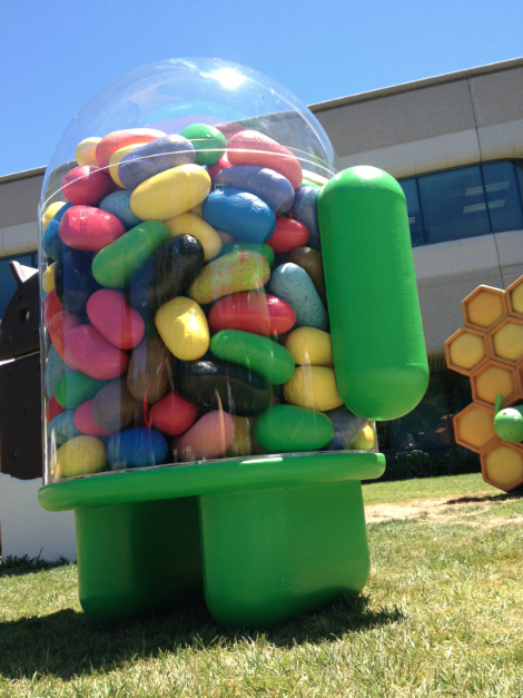 Behind The Scenes: The Making Of Google's Jelly Bean ...