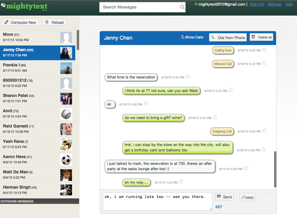 Ex-Googlers Launch MightyText, An iMessage For Android Users