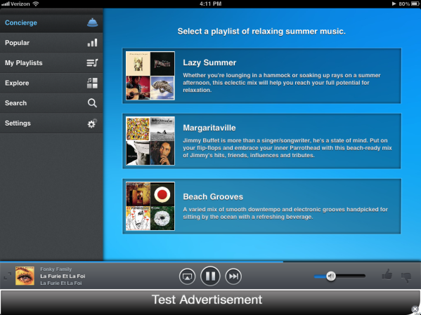 Songza, The Music Streaming Service That Does All Work For You