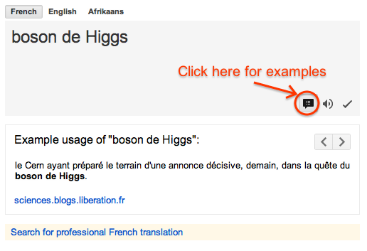 Google Translate Adds Example Sentences To Put Words Into Context