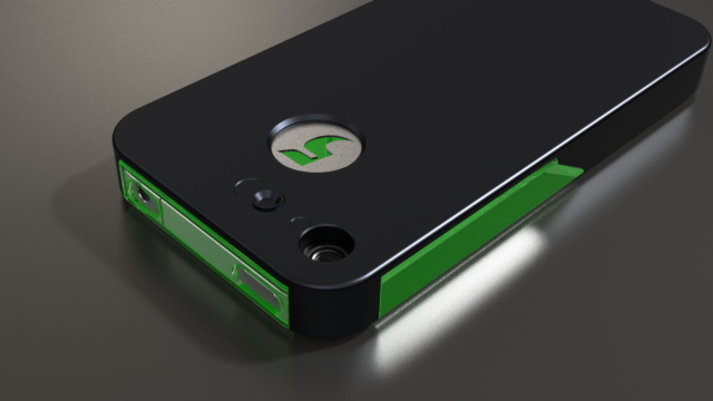 led notification iphone kickstarter flashr wants to make the iphone s bezel a 12567