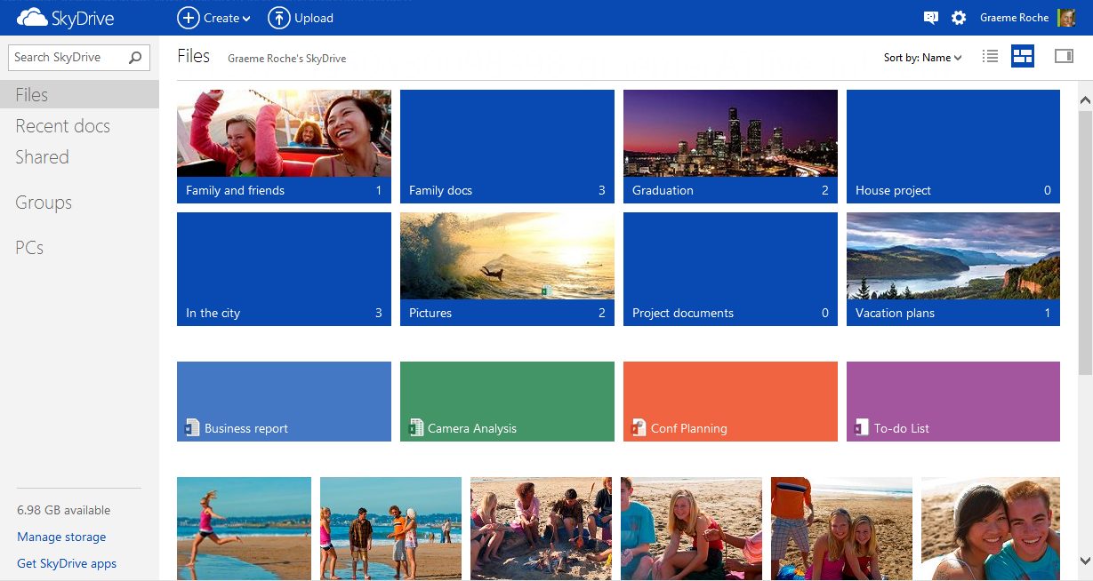 Microsoft's Outlook com Now Has 10 Million Users, SkyDrive