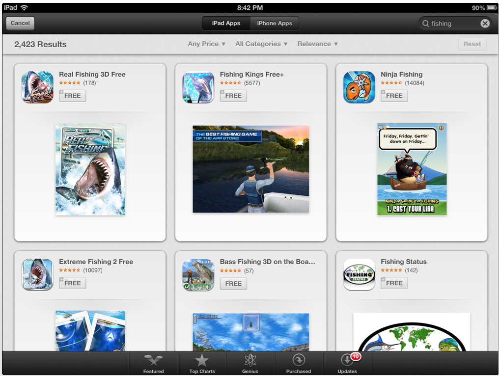Chomp-Inspired iOS 6 App Store Redesign Could Impact Long Tail Of