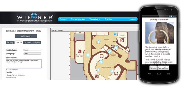 Wifarer Brings Indoor Navigation To The Royal BC Museum ... on indoor mobile, indoor landscape, indoor cloud point, indoor map depth, indoor waterpark, indoor home,