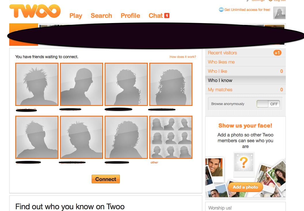 twoo social network