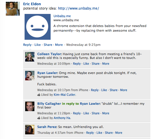 Unbaby me? Yes, Please  | TechCrunch