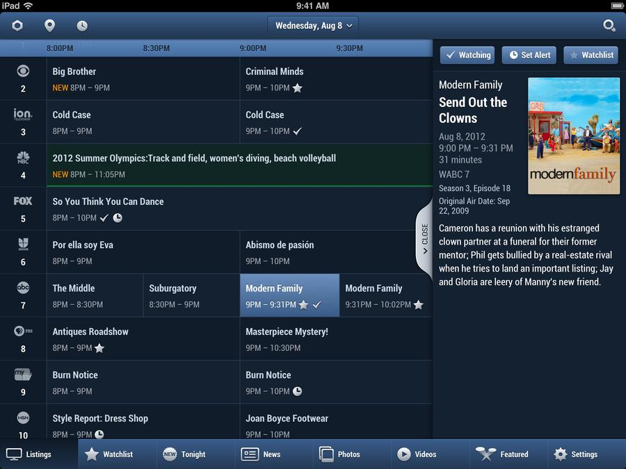 tv guide rolls out a new ios app for personalized discovery of tv rh techcrunch com apple tv channel guide apple tv channel guide