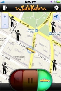 ZabKab Lets You Hail A NYC Yellow Cab With Your Phone
