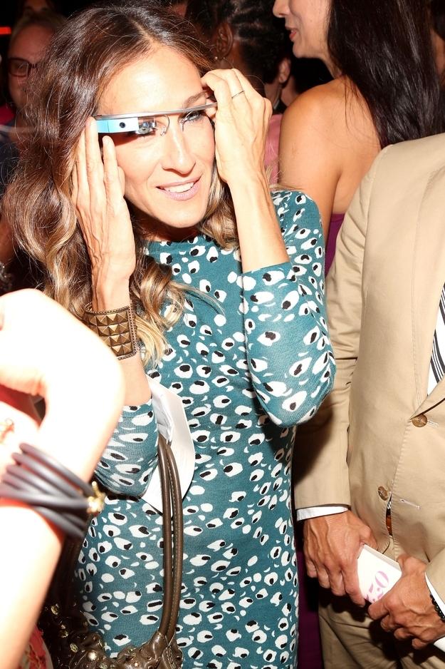 7ebe8ae14dc9c Diane von Furstenberg Models Wear Google Glass On The Catwalk ...