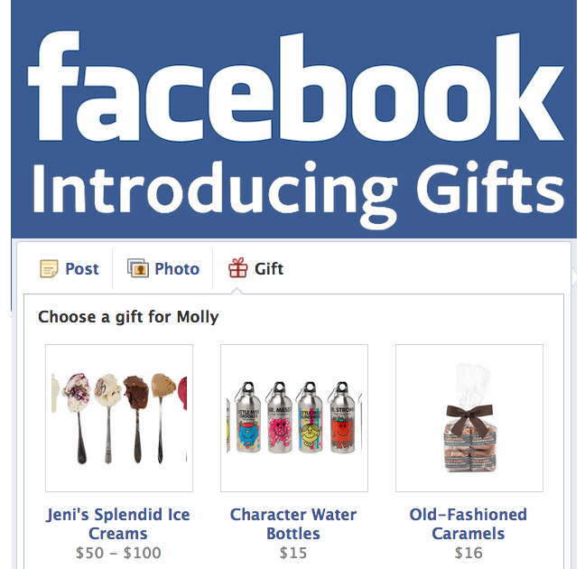 Watch out ecommerce facebook turns karma acquisition into gifts facebook gifts introducing negle Choice Image