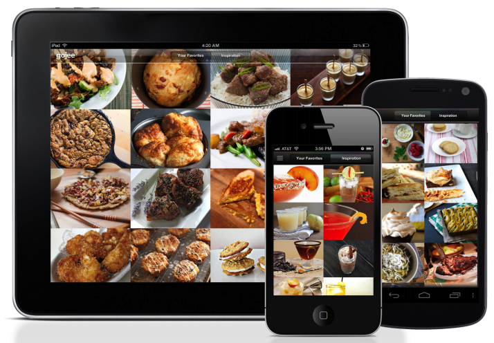 Gojees beautiful recipe website comes to iphone ipad and android gojee a design driven recipe sharing website which has grown its user base to over half a million is today debuting mobile apps for iphone forumfinder Images