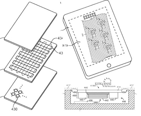 Apple Patents In-Screen Speakers, Flexible Displays And
