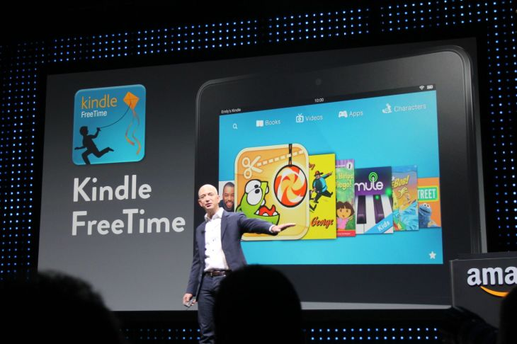 Amazon Announces First Kindle Fire Tablets Outside Of The