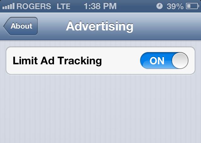 Ios 7 Eliminates Mac Address As Tracking Option Signaling Final Push Towards Apple S Own Ad Identifier Technology Techcrunch