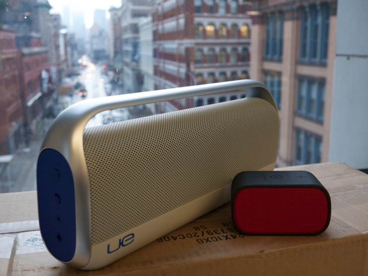 Logitech UE Boombox And Mobile Boombox Review: Bluetooth
