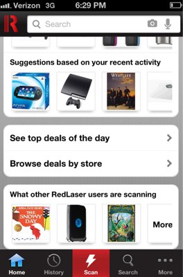 Ebay S Redlaser Takes On Shopkick Adds Geofencing And Deals With Best Buy To Barcode Scanning App Techcrunch