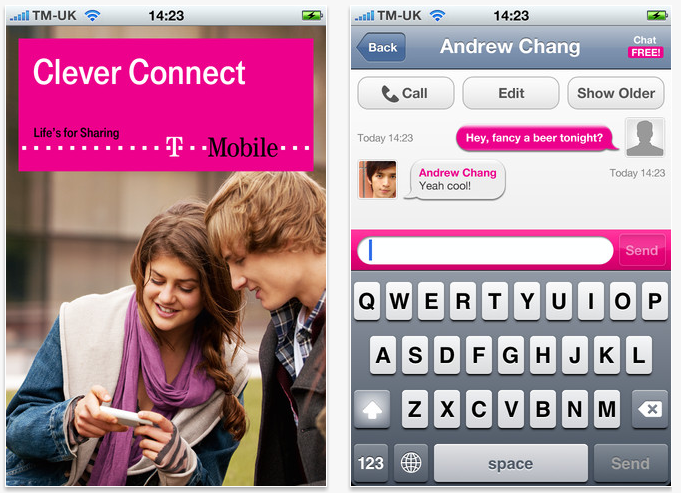 T-Mobile Launches CleverConnect, A Bobsled-Style VoIP Service For