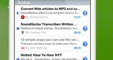 SoundGecko Now Turns Your Favorite RSS Feed Into An MP3 Podcast