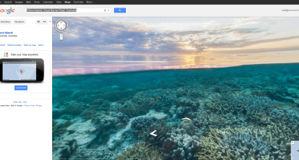 """Google Maps Goes Diving, Provides """"Seaview"""" Of Great Barrier ..."""