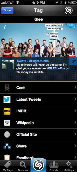 Shazam Makes Its Big TV Push, Says App Can Now Tag Any Show On Any
