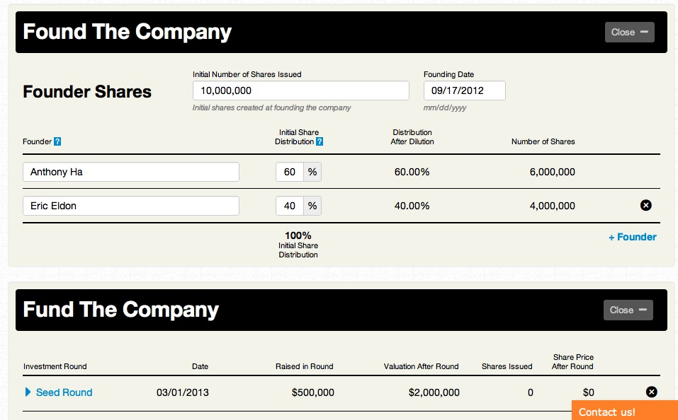 Startups: Here's A Calculator For Funding And Equity, Courtesy Of