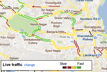 Google Maps Navigation And Live Traffic Data Come To India ... on msn india, sign india, bing india, google maps india,