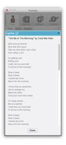 TuneUp Lyrics