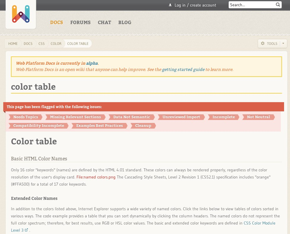 Css color color table techcrunch for Table th font color css