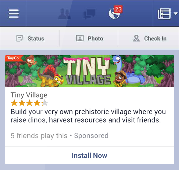 Fiksu Introduces Support For Facebook Mobile App Install Ads