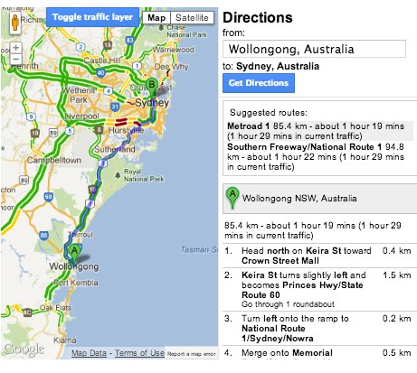 National Traffic Map.Traffic And Trip Updates Now Available For Enterprise Customers