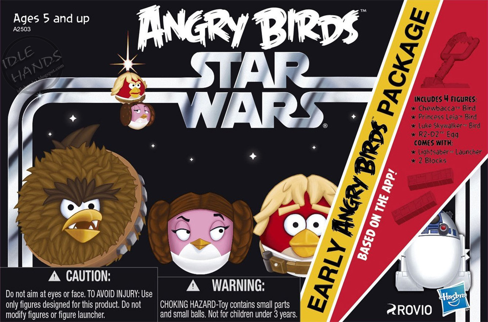 Angry Birds Star Wars Hits Ios Android And Toys R Us On November 8th Techcrunch