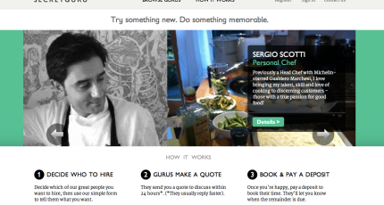 Ebay Is Now Selling Live Services Launches Secretguru As A Beta Pilot In The Uk Techcrunch