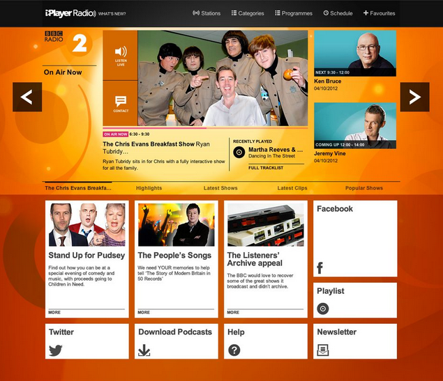 BBC Builds Out Its iPlayer Empire With iPlayer Radio, New