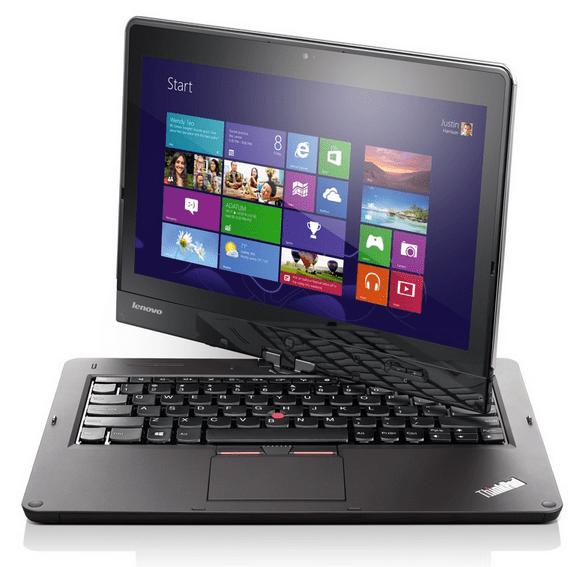 Lenovo Updates The Thinkpad Tablet Laptop Hybrid With The Thinkpad Twist An 849 12 5 Ultrabook Techcrunch